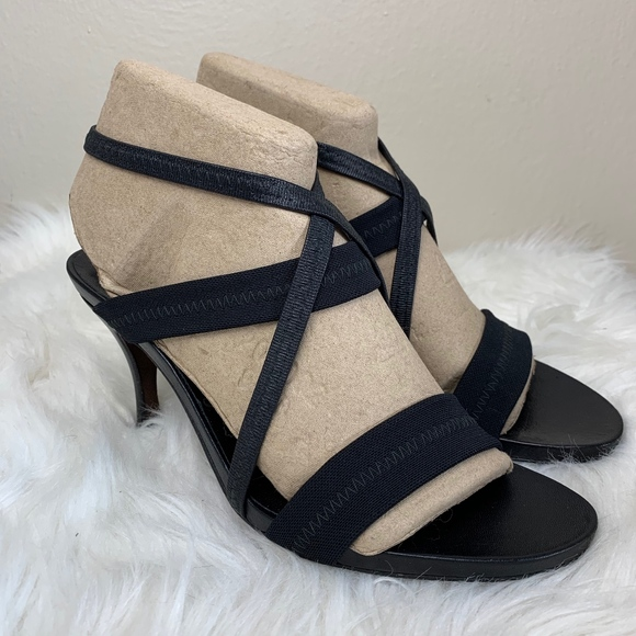 Donald J. Pliner Shoes - Donald J Pliner Strappy Stretchy Stiletto Heels